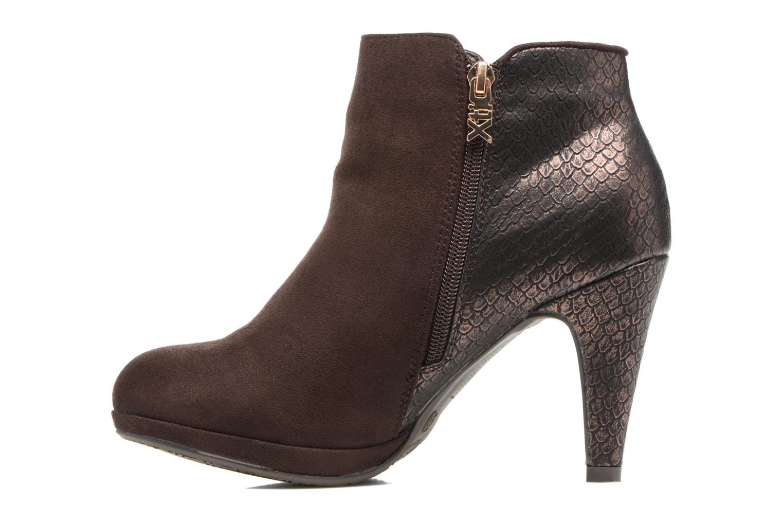 Stiefeletten & Boots Xti Fresia-30222 braun ansicht von vorne
