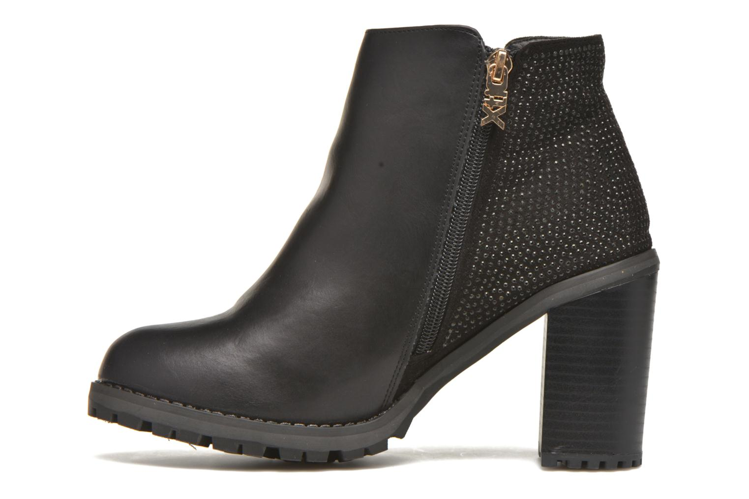 Ankle boots Xti Louxy-46066 Black front view