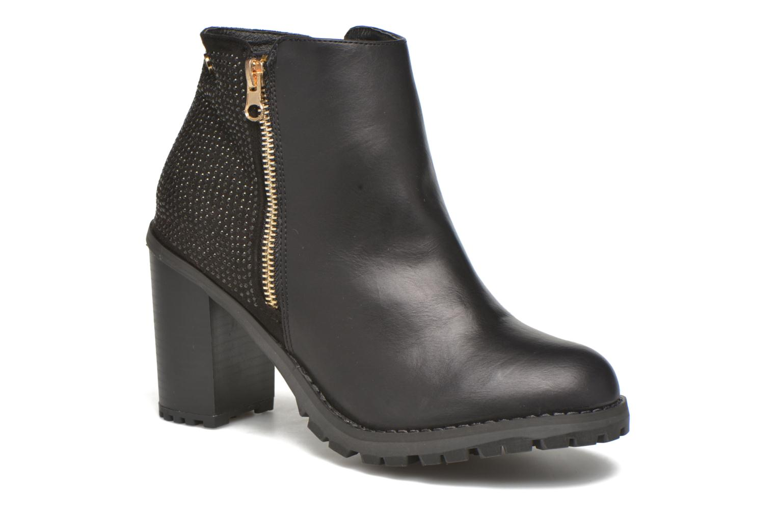 Ankle boots Xti Louxy-46066 Black detailed view/ Pair view
