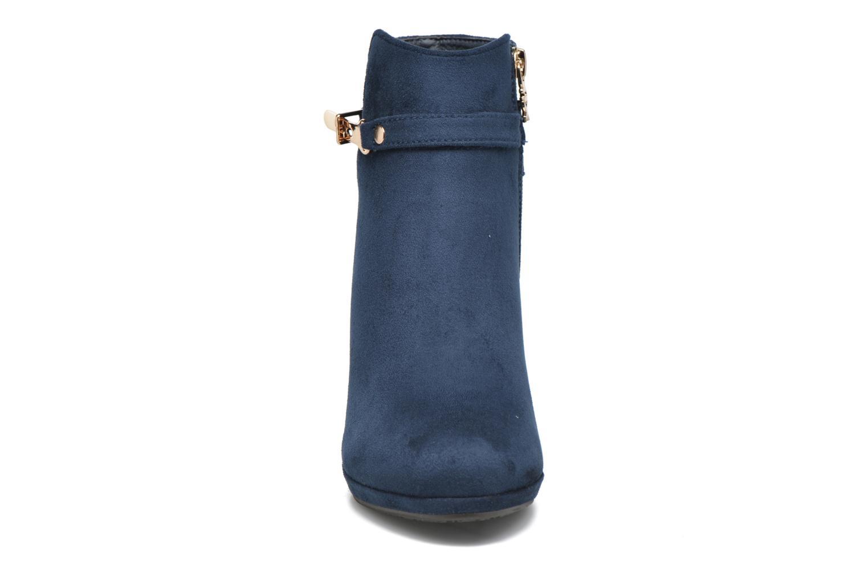 Bottines et boots Xti Poppy-46013 Bleu vue portées chaussures