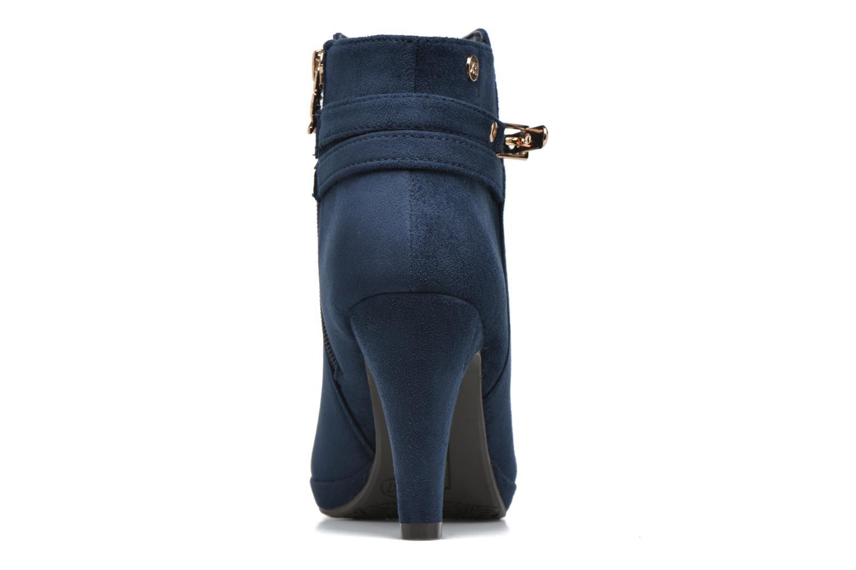 Bottines et boots Xti Poppy-46013 Bleu vue droite