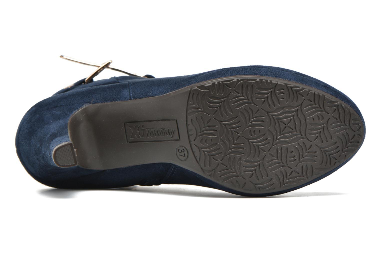 Bottines et boots Xti Poppy-46013 Bleu vue haut