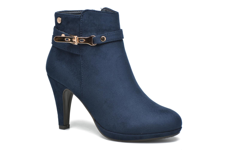 Bottines et boots Xti Poppy-46013 Bleu vue détail/paire