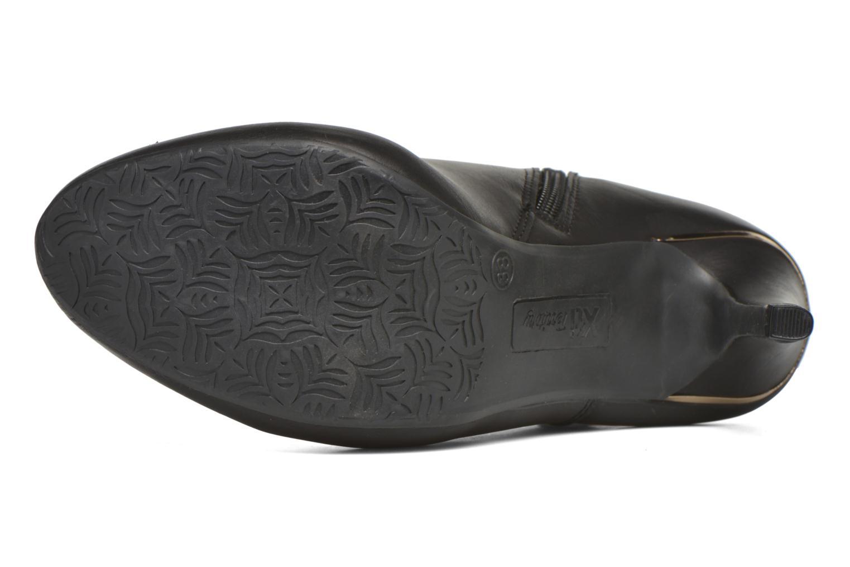 Botines  Xti Lena-46017 Negro vista de arriba