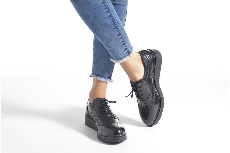 Chaussures à lacets Xti Luty-46259 Noir vue bas / vue portée sac