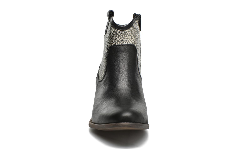 Bottines et boots Georgia Rose Garok Noir vue portées chaussures