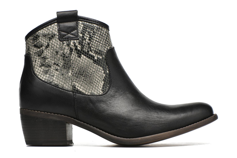 Bottines et boots Georgia Rose Garok Noir vue derrière