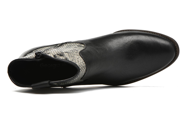 Bottines et boots Georgia Rose Garok Noir vue gauche