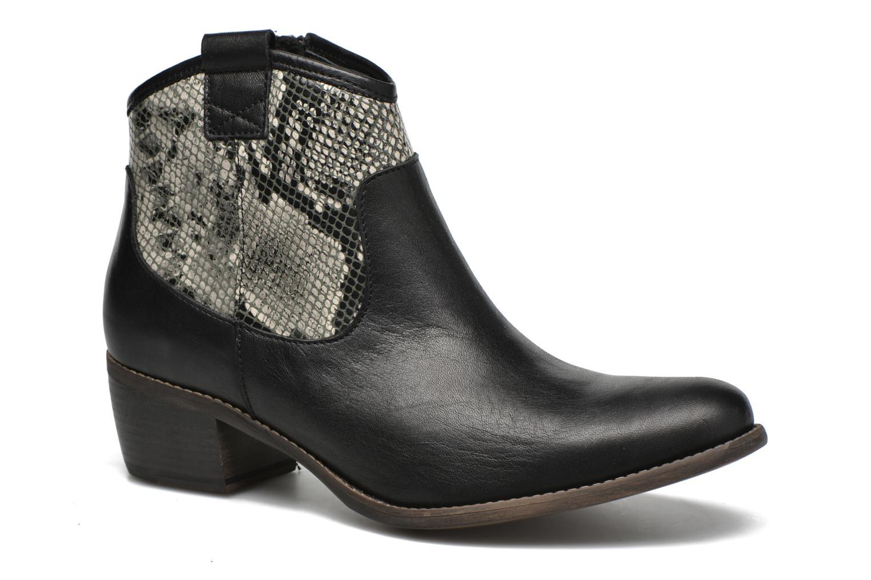 Bottines et boots Georgia Rose Garok Noir vue détail/paire