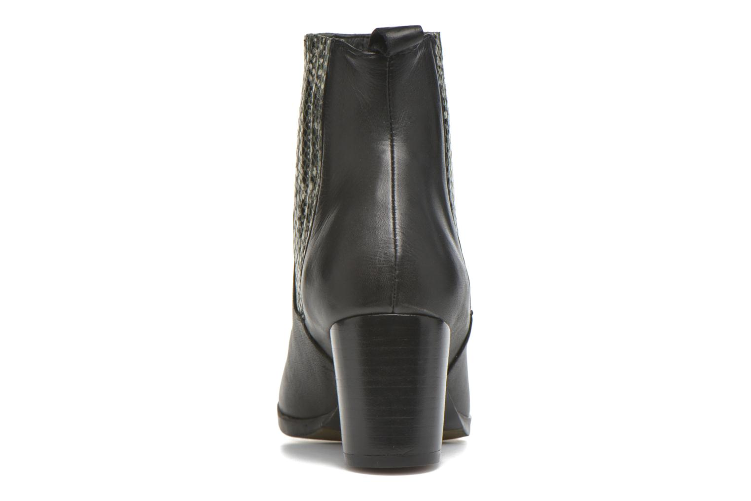 Ankle boots Georgia Rose Galea Black view from the right