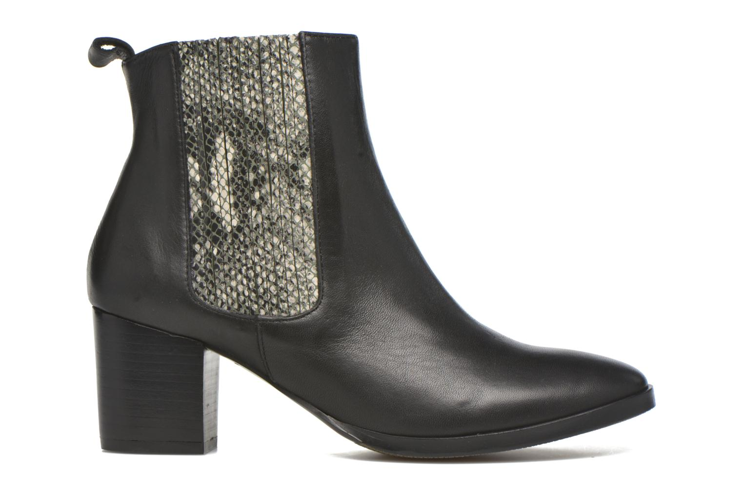 Ankle boots Georgia Rose Galea Black back view