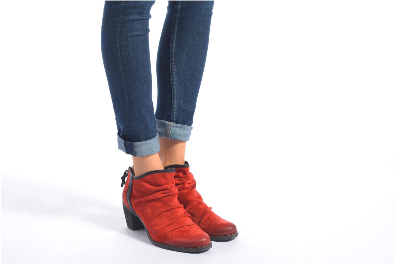 Stiefeletten & Boots Dkode Carter 3 braun ansicht von unten / tasche getragen