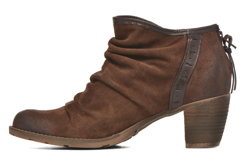 Stiefeletten & Boots Dkode Carter 3 braun ansicht von vorne