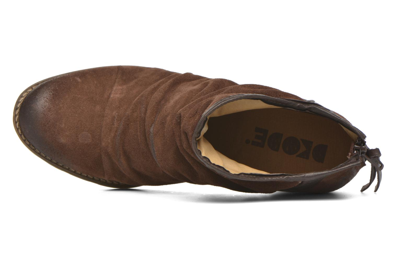 Bottines et boots Dkode Carter 3 Marron vue gauche