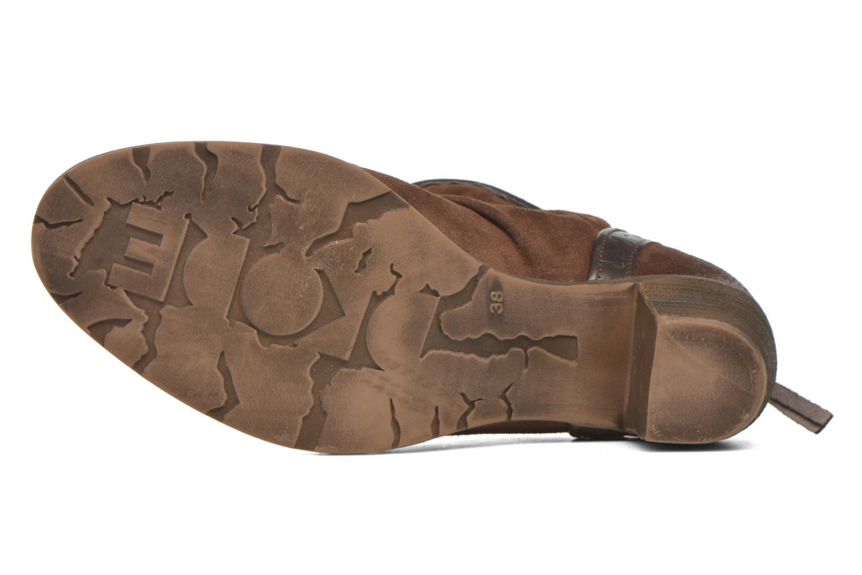 Bottines et boots Dkode Carter 3 Marron vue haut