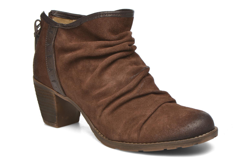Bottines et boots Dkode Carter 3 Marron vue détail/paire