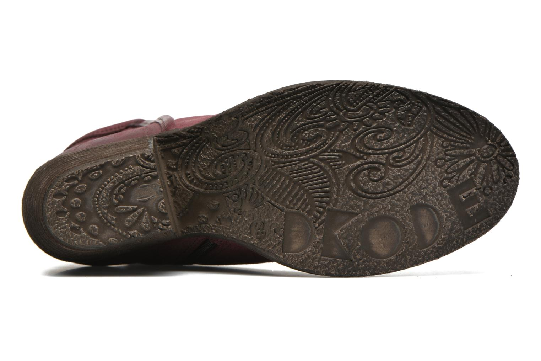 Stiefeletten & Boots Dkode Lakym weinrot ansicht von oben