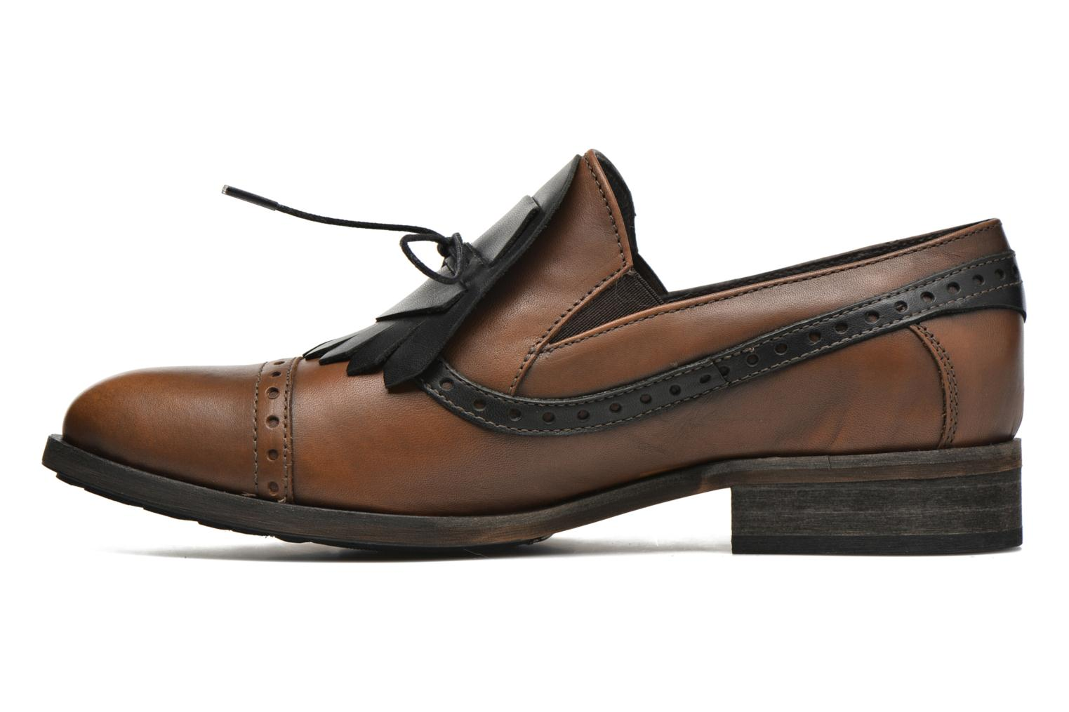 Loafers Dkode Sirian Brown front view