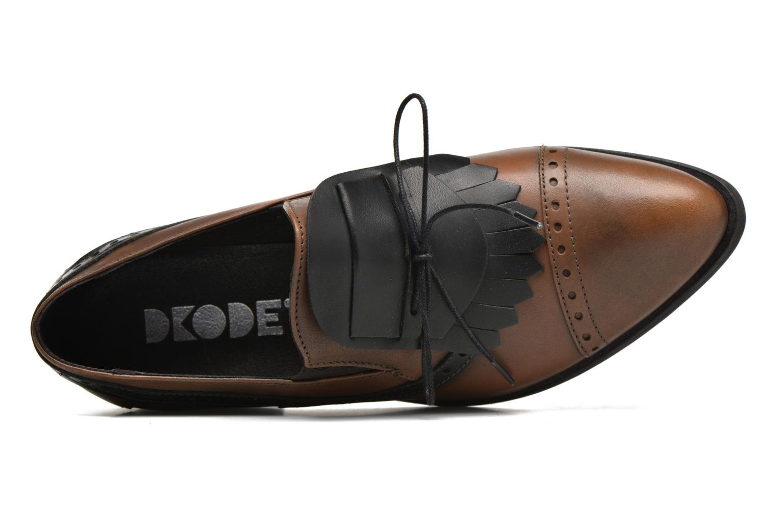 Loafers Dkode Sirian Brown view from the left