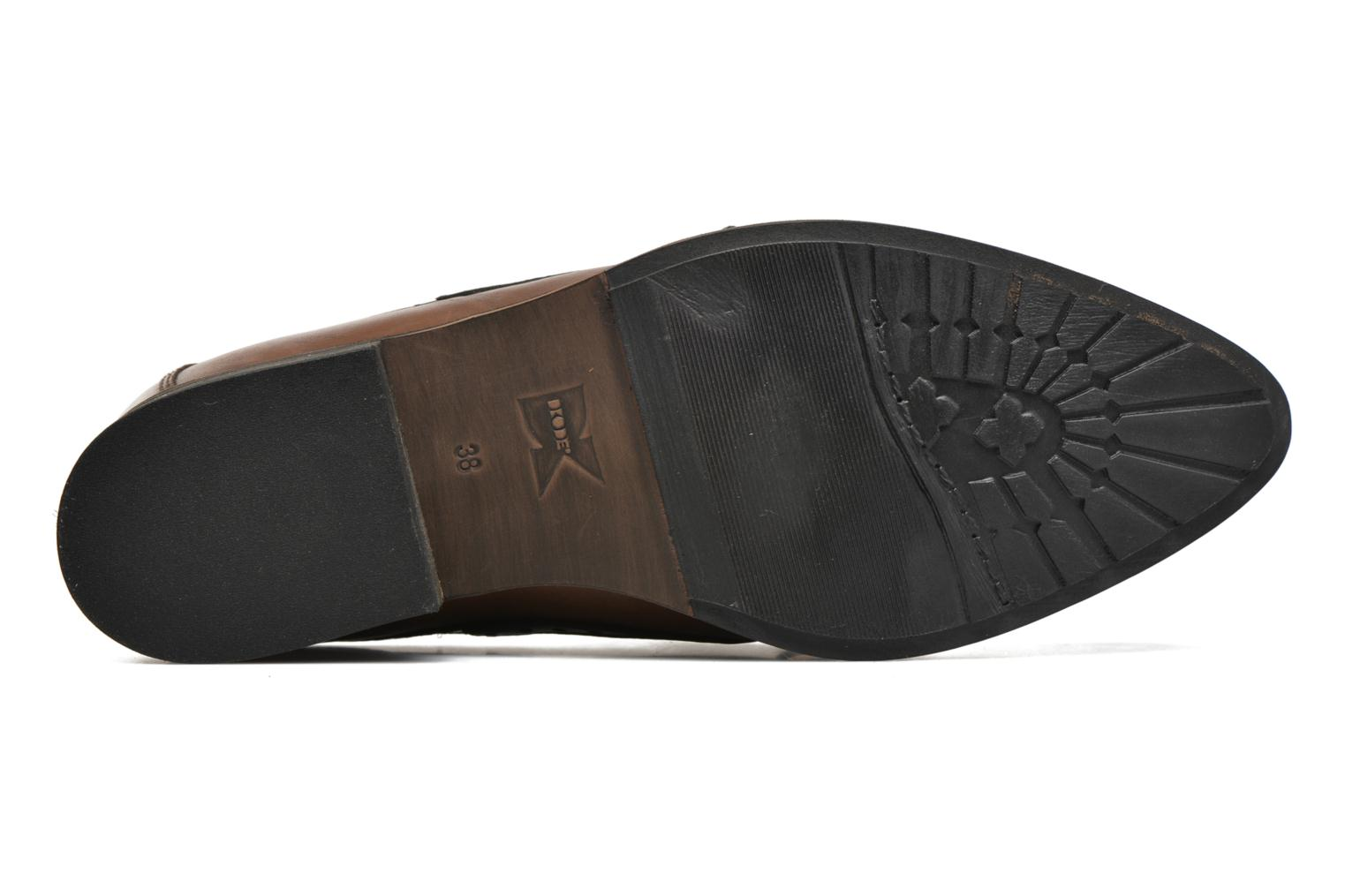 Loafers Dkode Sirian Brown view from above