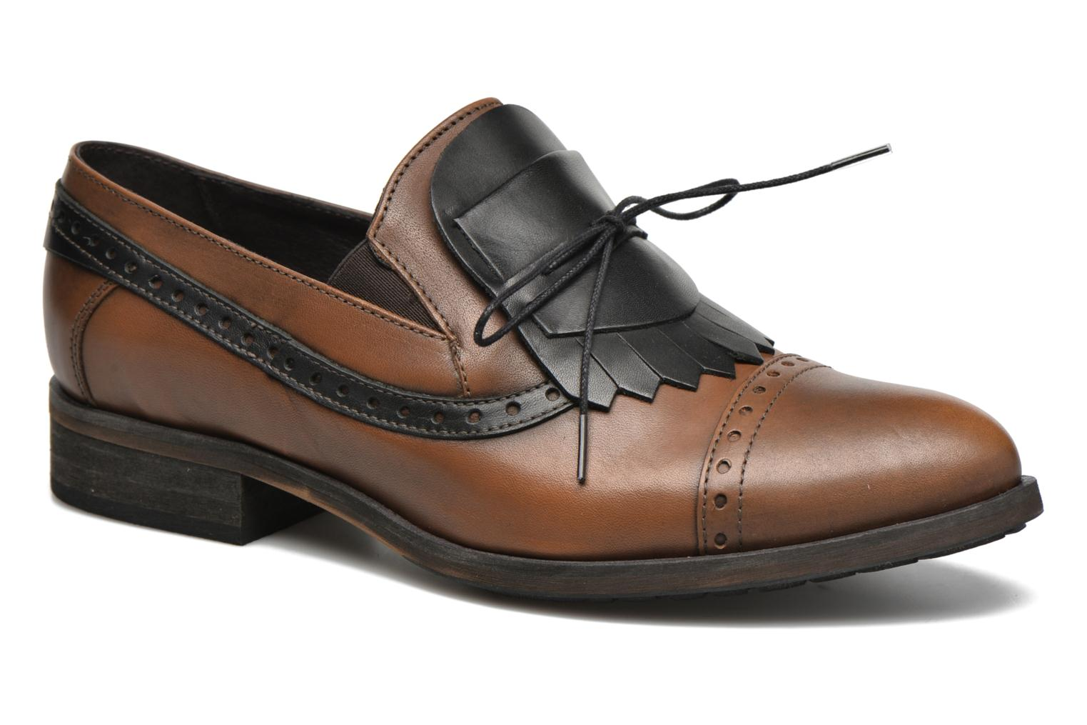 Loafers Dkode Sirian Brown detailed view/ Pair view