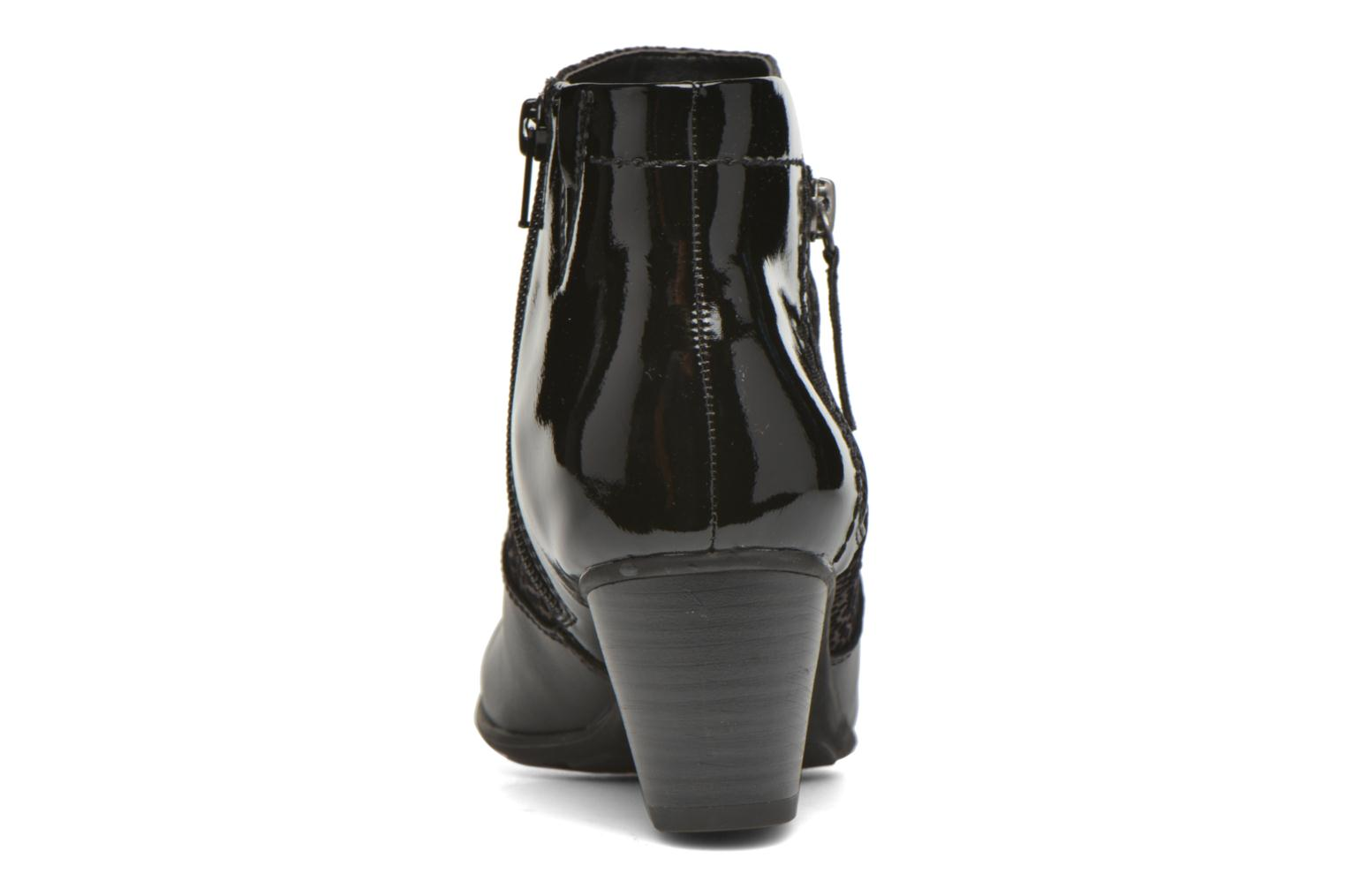 Ankle boots Jana shoes Lisette Black view from the right