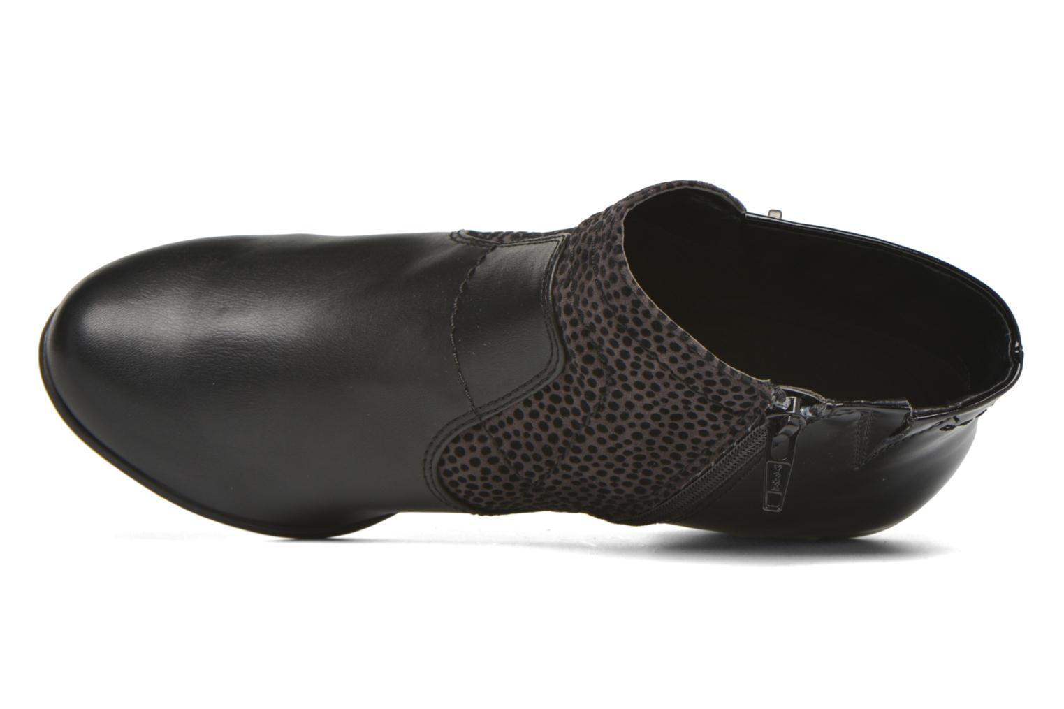 Ankle boots Jana shoes Lisette Black view from the left