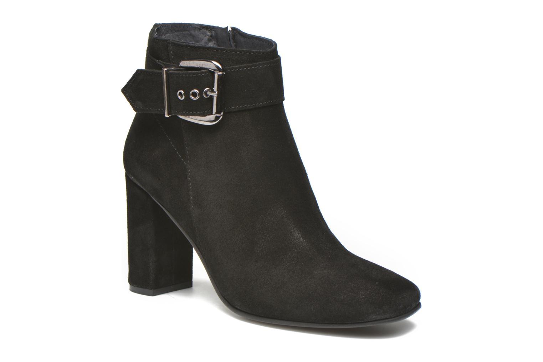 Bottines et boots Georgia Rose Mabouk Noir vue détail/paire