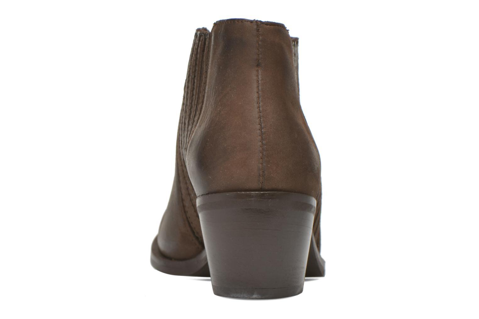Ankle boots Georgia Rose Matiag Brown view from the right