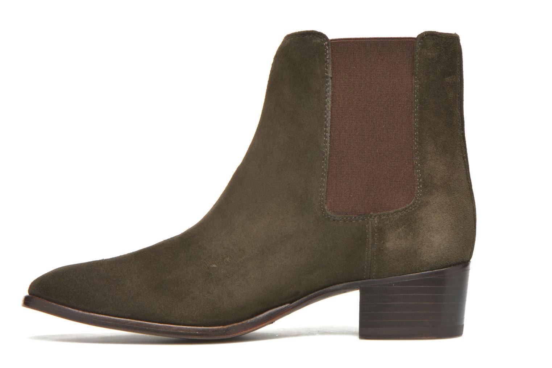 Bottines et boots Frye Dara Chelsea Vert vue face