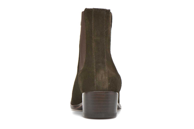 Bottines et boots Frye Dara Chelsea Vert vue droite