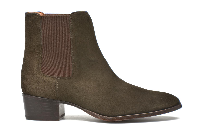 Bottines et boots Frye Dara Chelsea Vert vue derrière