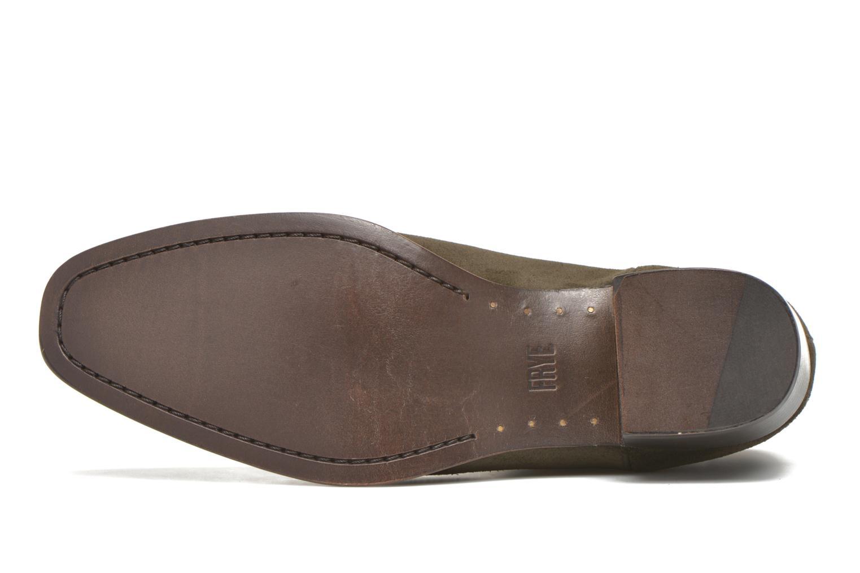 Bottines et boots Frye Dara Chelsea Vert vue haut