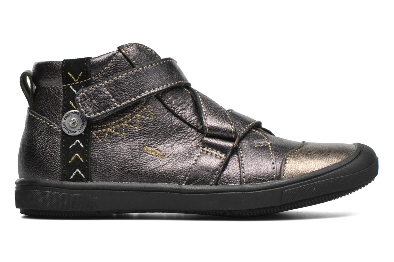 Chaussures à scratch Catimini Monarque Gris vue derrière