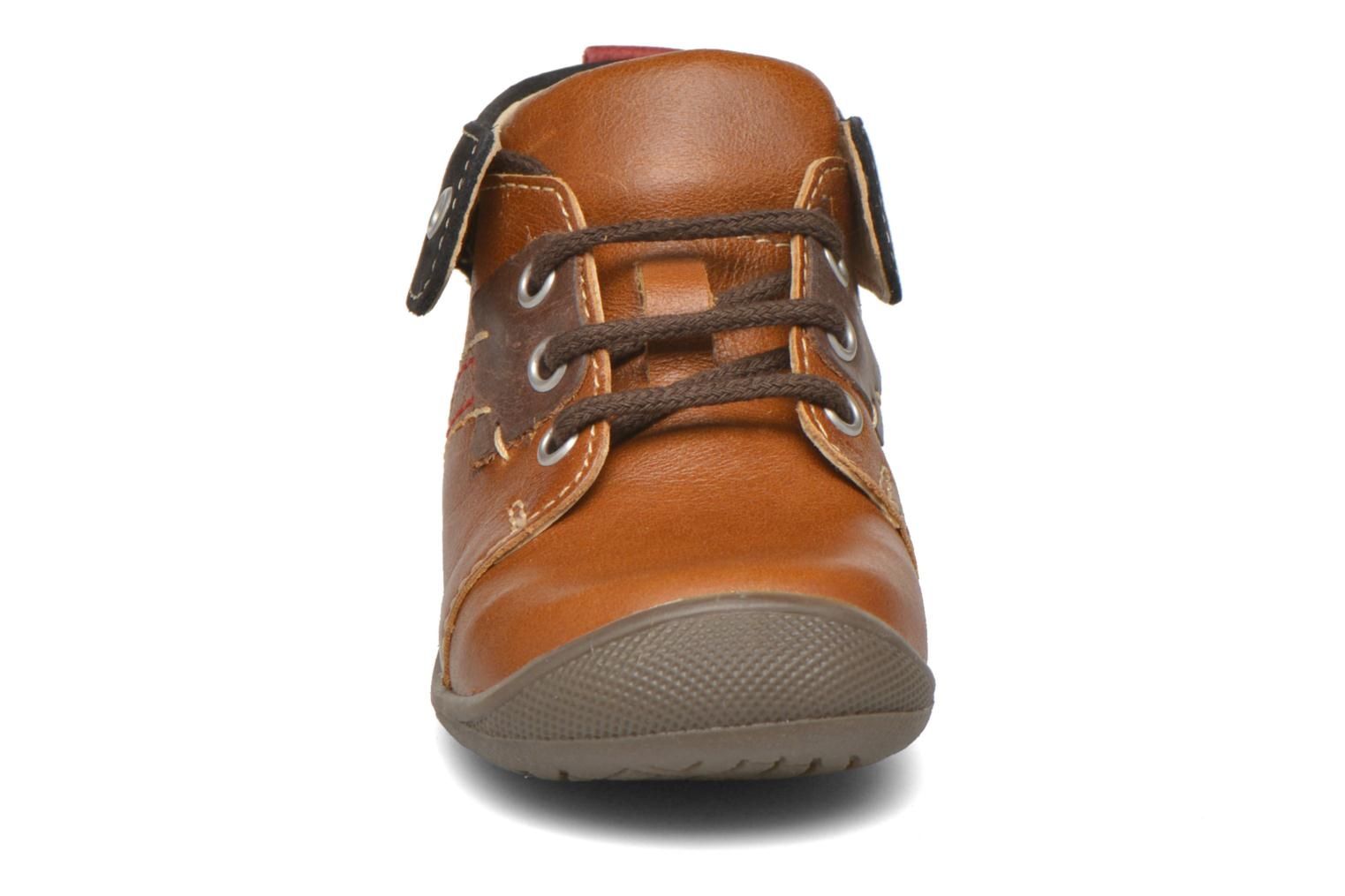 Lace-up shoes Catimini Cardinal Brown model view