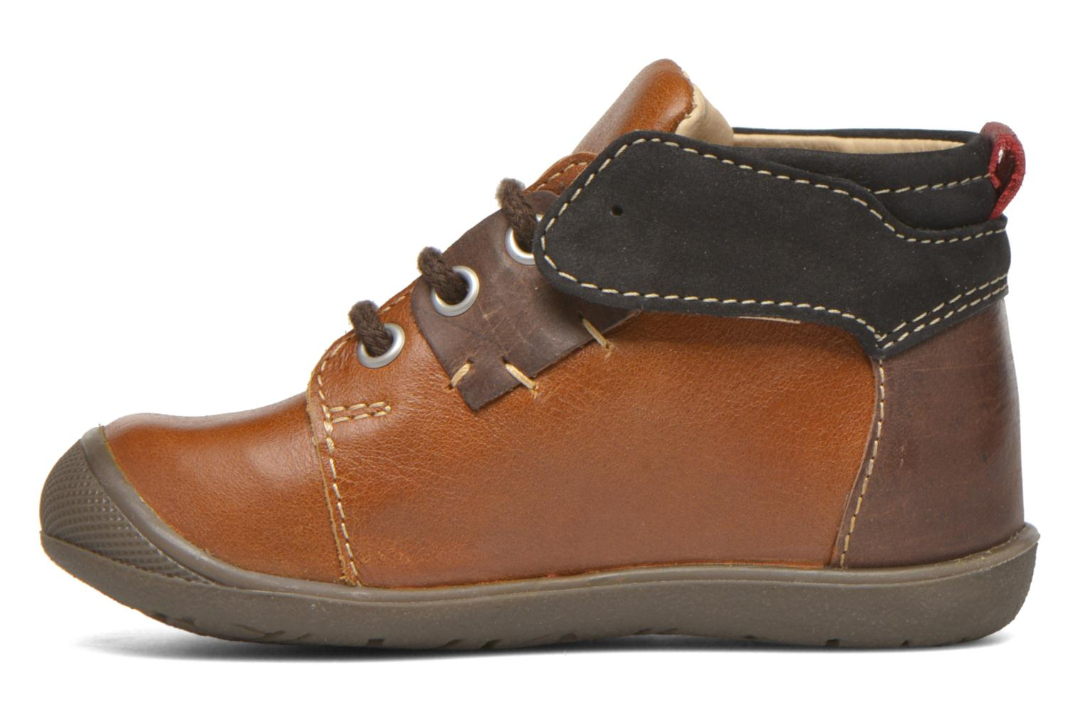 Lace-up shoes Catimini Cardinal Brown front view