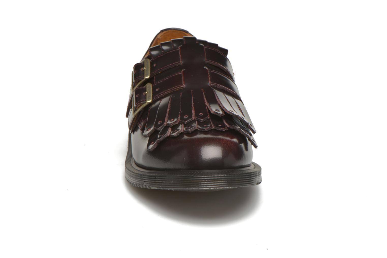 Mocassins Dr. Martens Ellaria Bordeaux vue portées chaussures