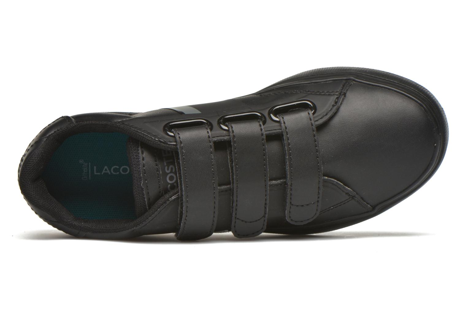 Trainers Lacoste Fairlead 316 1 Black view from the left