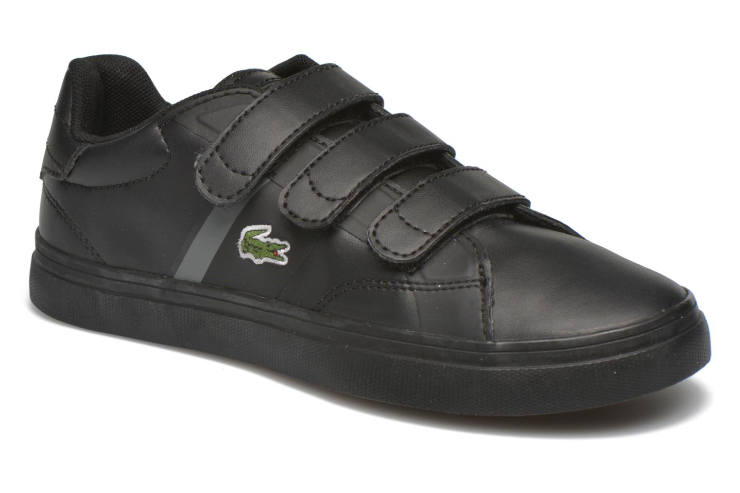 Trainers Lacoste Fairlead 316 1 Black detailed view/ Pair view