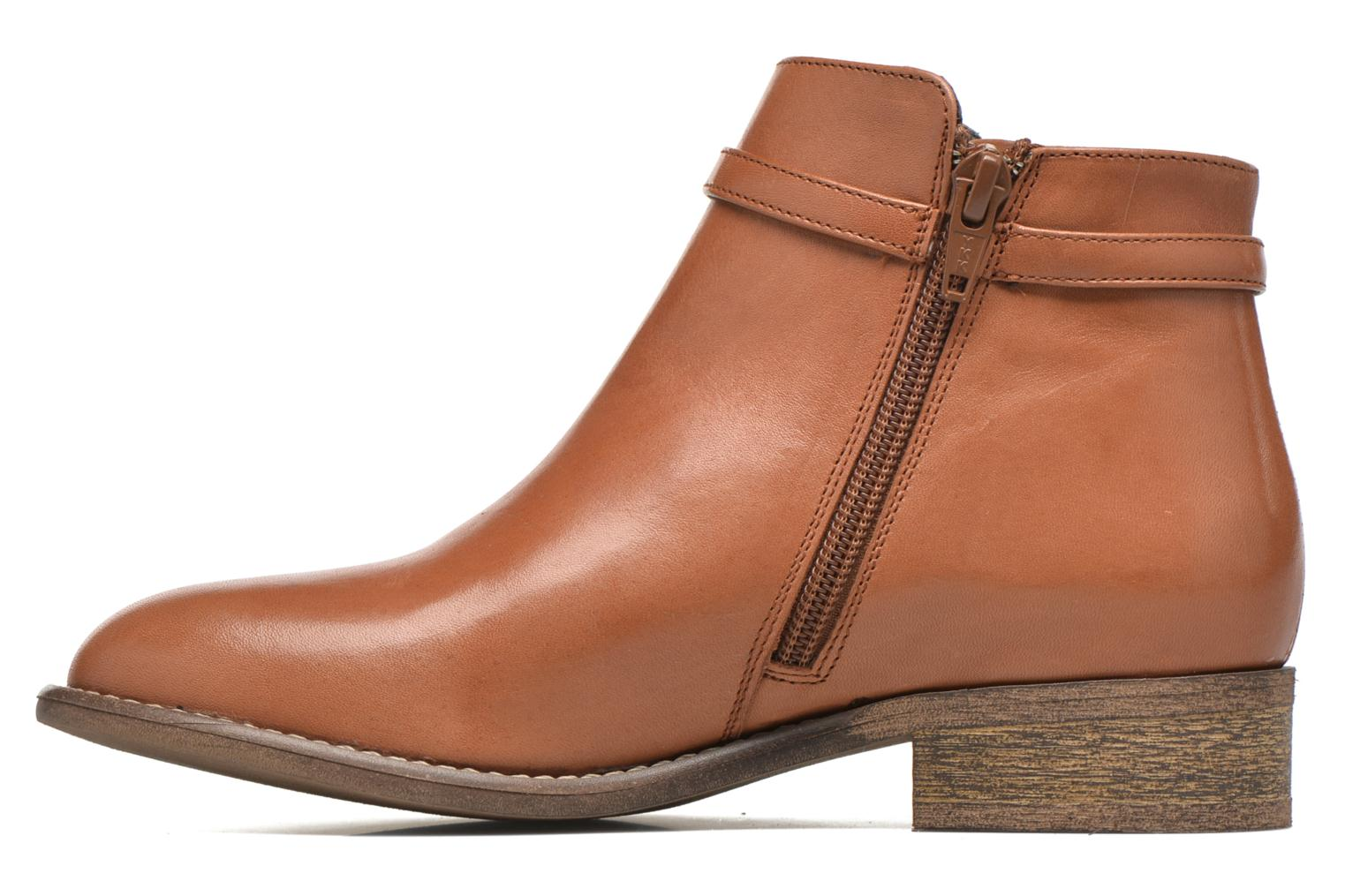 Ankle boots Yep Flavy Brown front view