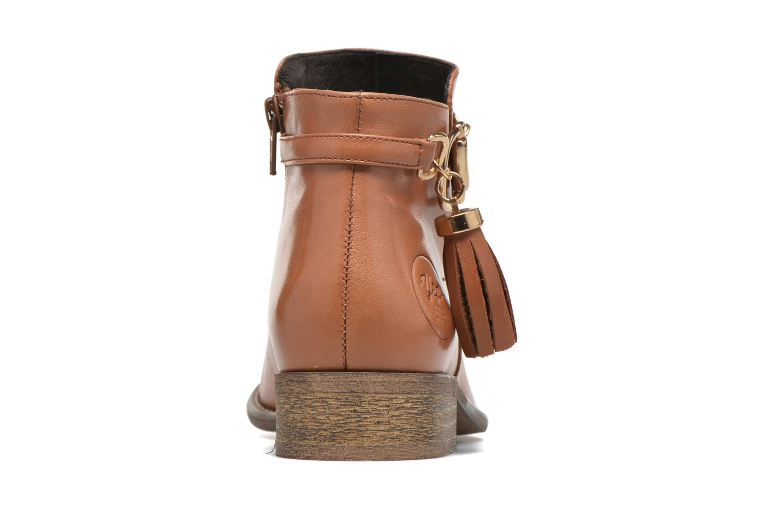 Ankle boots Yep Flavy Brown view from the right