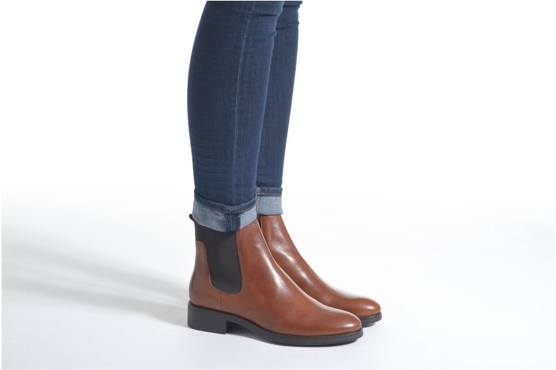 Bottines et boots Minelli Hedde Noir vue bas / vue portée sac