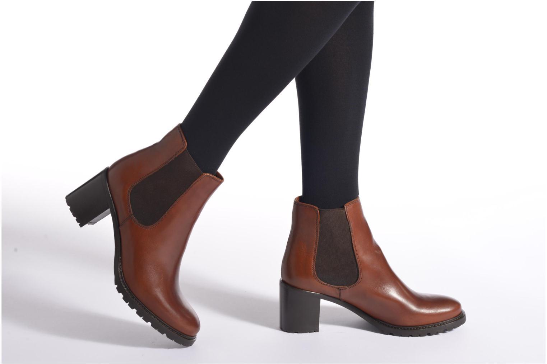 Bottines et boots Minelli Elev Marron vue bas / vue portée sac