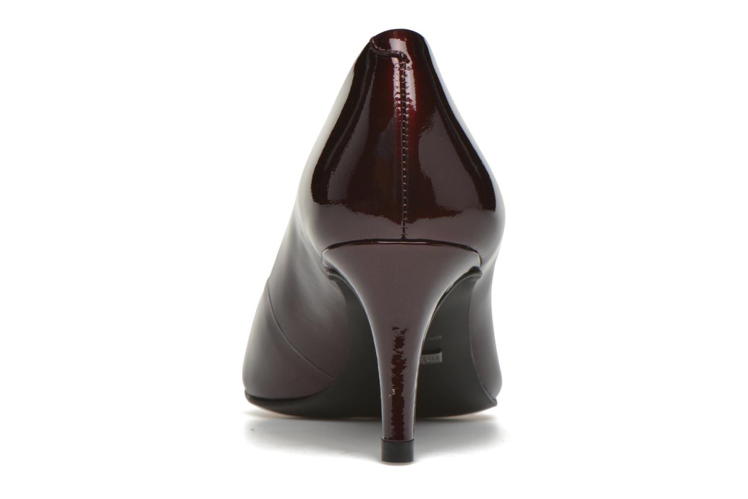 High heels Minelli Volle Burgundy view from the right