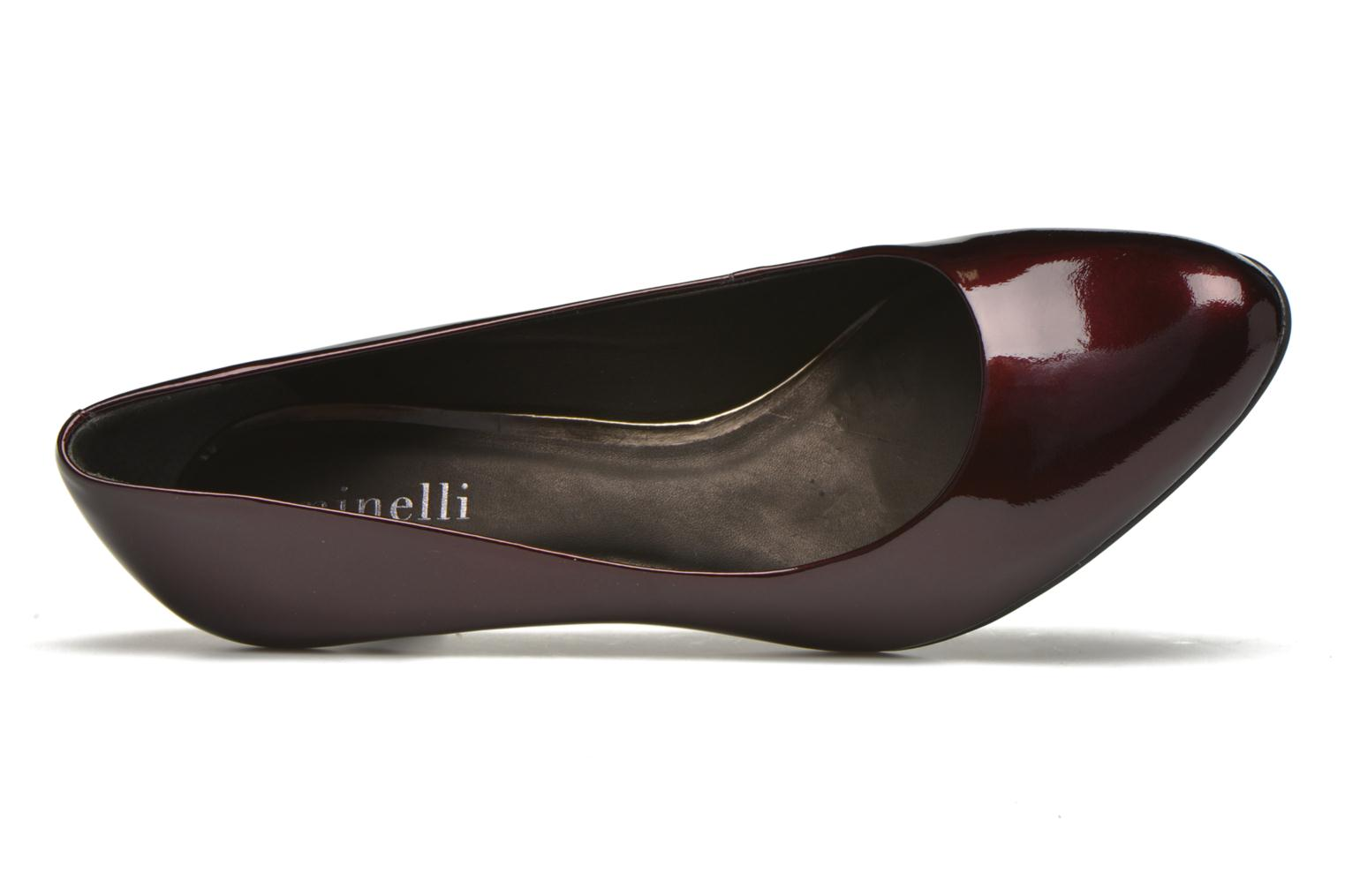Pumps Minelli Volle Bordeaux links
