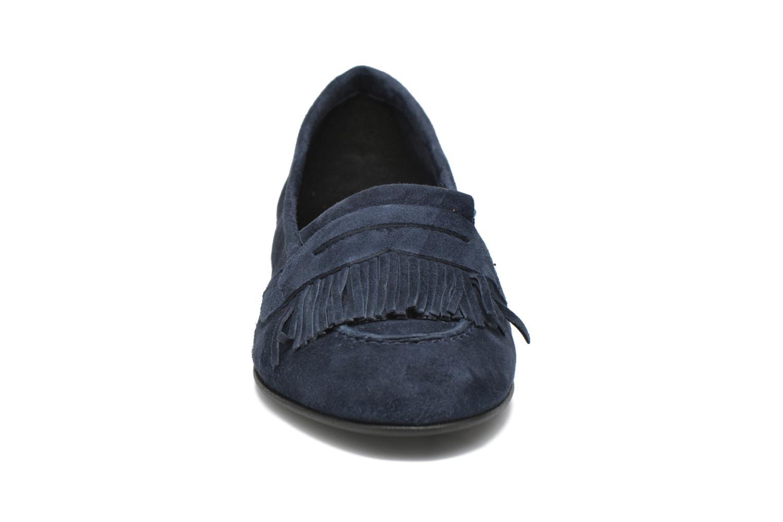 Mocassins Minelli Frangy Bleu vue portées chaussures