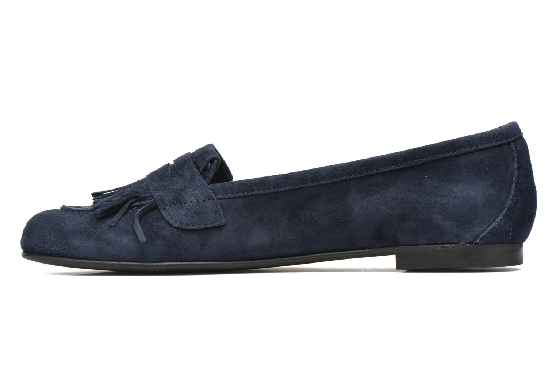 Loafers Minelli Frangy Blå se forfra