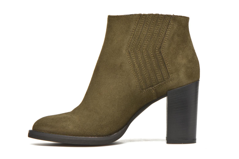 Bottines et boots Minelli Yvare Vert vue face