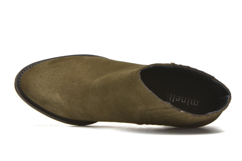 Bottines et boots Minelli Yvare Vert vue gauche
