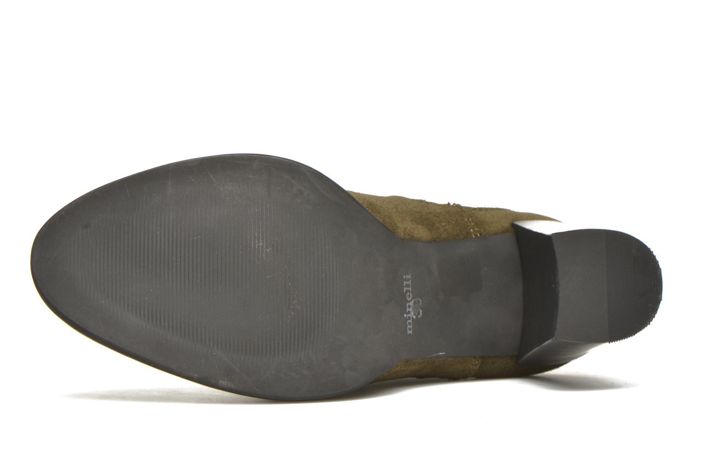 Bottines et boots Minelli Yvare Vert vue haut